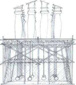 drawing scaff:temple trem