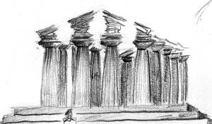 temple sketch235